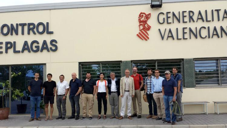Google Life Sciences visita el Centro de Control Biológico de Plagas de la Generalitat