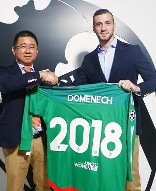 Jaume Doménech está muy satisfecho de su continuidad en el Valencia CF.