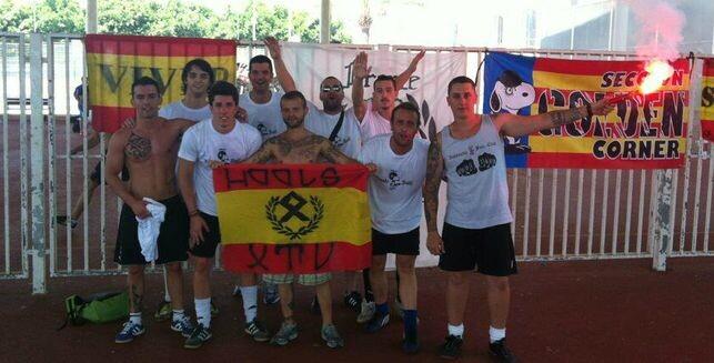Jorge Roca, exesponsable de Deportes del PP de Xàtiva, segundo por la izquierda / @AturemElFeixism
