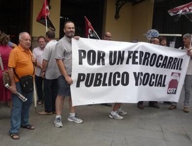 Jornada de huelga convocada por CGT. (Foto-Antonio Pérez Collado, secretario de Acción Social CGT-PV).