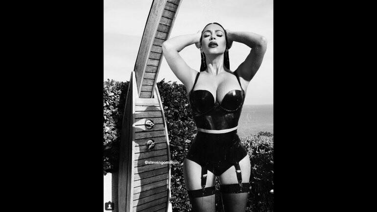 Kim Kardashian compartió nuevamente fotos suyas muy sexy en las redes (4)
