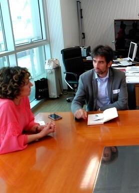 La directora general de Industria se puso a disposición de los productores valencianos.