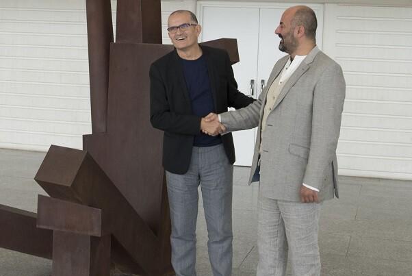 La exposición 'Testigos del arte' abre el ciclo de actividades conjuntas del IVAM y Les Arts. (Foto-Tato Baeza).