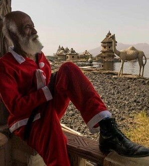 La historia de 'Crumbs' se desarrolla en espectaculares paisajes etíopes post-apocalípticos.