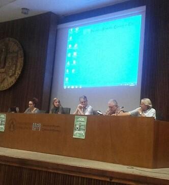 La intervención de Tania Sánchez, exdirigente de Izquierda Unida y, en la actualidad, la cara visible de Convocatoria por Madrid, fue densa y prolija.