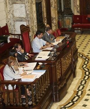 La moción ha recibido únicamente el respaldo del Equipo de Gobierno compuesto por Compromís, PSPV-PSOE y València en Comú.