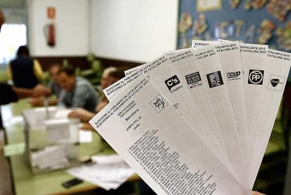 La participación en las elecciones catalanas alcanza el 63,13 por ciento.