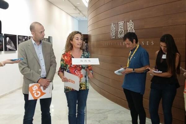 La portavoz de Ciudadanos (C's) en la Comunidad Valenciana, Carolina Punset, aseguró que el '27S no es solo un problema catalán'.