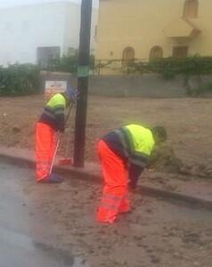 La provincia de Alicante alcanzó el nivel amarillo de alerta por lluvias.