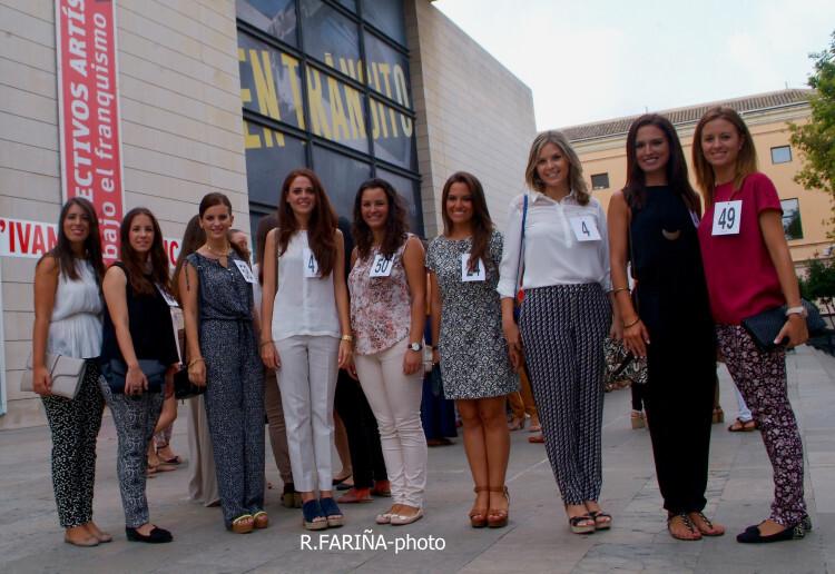 Las candidatas a Cortes y Fallera mayor de Valencia vistan el IVAM (2)