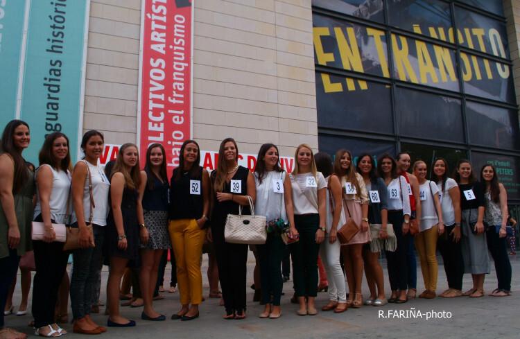 Las candidatas a Cortes y Fallera mayor de Valencia vistan el IVAM (3)