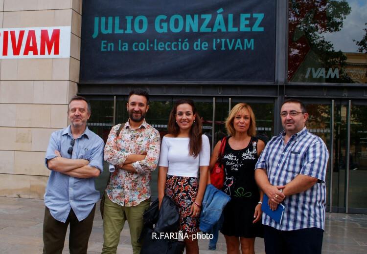 Las candidatas a Cortes y Fallera mayor de Valencia vistan el IVAM (4)