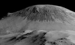 Las imágenes de Marte donde la NASA ve huellas de agua (1)