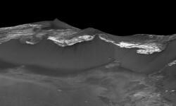 Las imágenes de Marte donde la NASA ve huellas de agua (4)