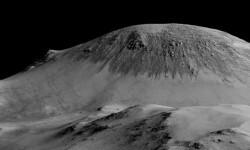 Las imágenes de Marte donde la NASA ve huellas de agua (5)