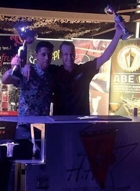 Leo Gálvez, nuevo campeón y Ernest Ross como subcampeón.