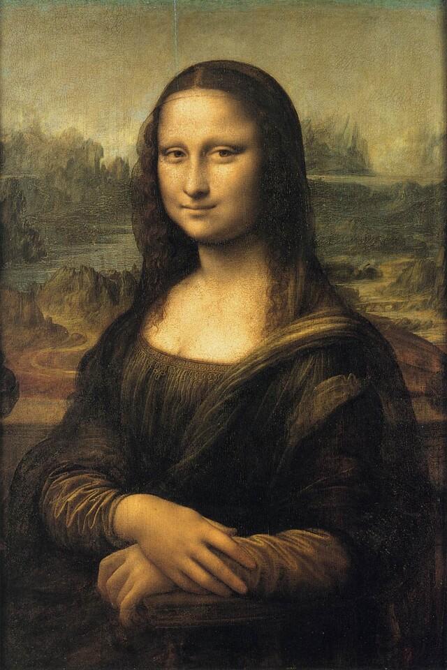 Lisa Gherardini del Giocondo, Mona Lisa