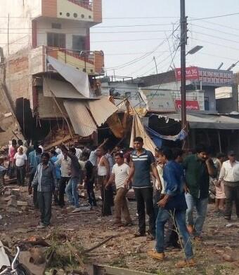 Los heridos fueron trasladados a distintos hospitales de la zona.