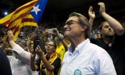 Los independentistas catalanes obtendrían la mayoría absoluta en las elecciones.