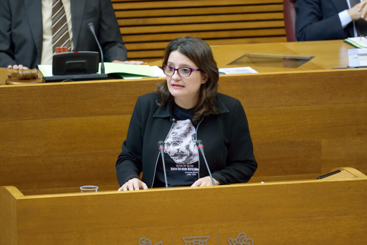 Mònica Oltra anuncia la eliminación del copago en servicios para 2016 y una nueva ley de Servicios Sociales