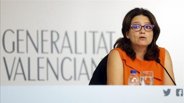 Mónica Oltra, vicepresidenta de la Generalitat Valenciana.