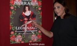 María Barranco sube al Talía el unipersonal 'Legionaria' sobre la vida de una meretriz. (Foto-R.Fariña-Valencia Noticias).