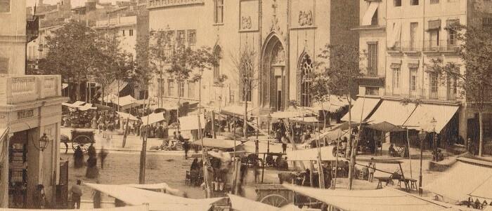 Mercat de València. 1888.