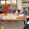 Mercedes Berenguer atiende las propuestas de los profesores de Formación Profesional Adaptada