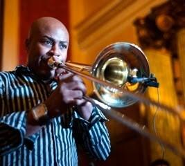 Montalvo es uno de los trombonistas más importantes de Cuba.