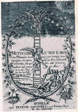 Mutus Liber. Portada.