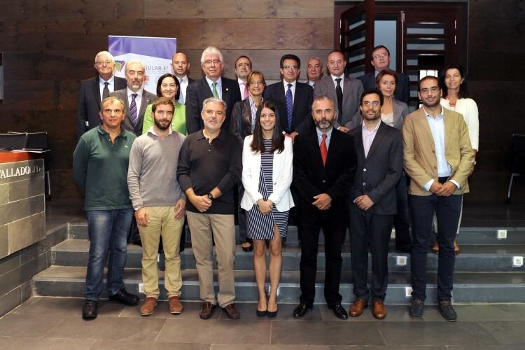 Valladolid, 15/9/2015. Premio a las Soluciones Innovadoras para la mejora de la calidad de vida en el Palacio de Santa Cruz. Foto Ricardo Otazo.