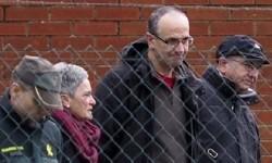 Plazaola a la salida de la cárcel en una imagen de archivo.