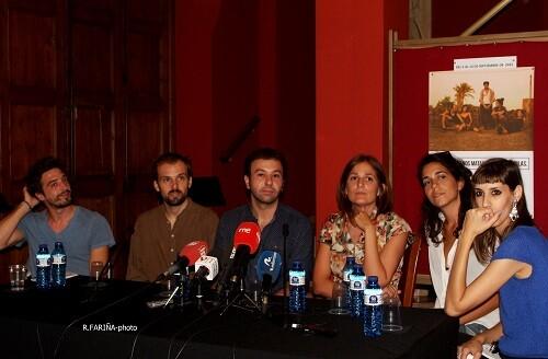 Presentación de la obra en el Teatro Talía.