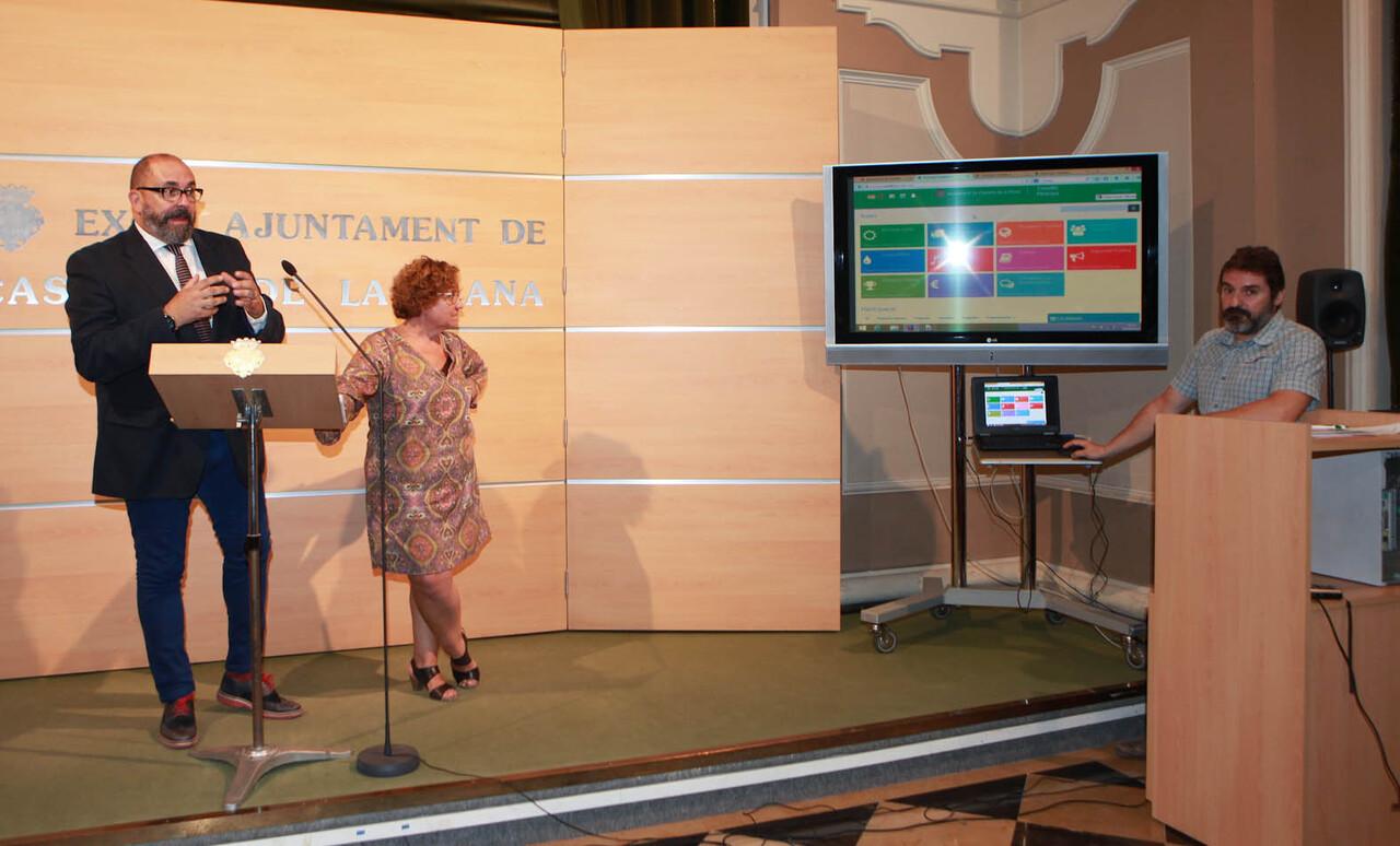 Presentacion portal participacion Castellon Participa