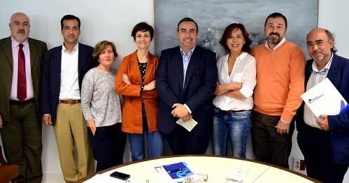 Reunión entre Asociación Transparencia y Consejo de Transparencia y Buen Gobierno.