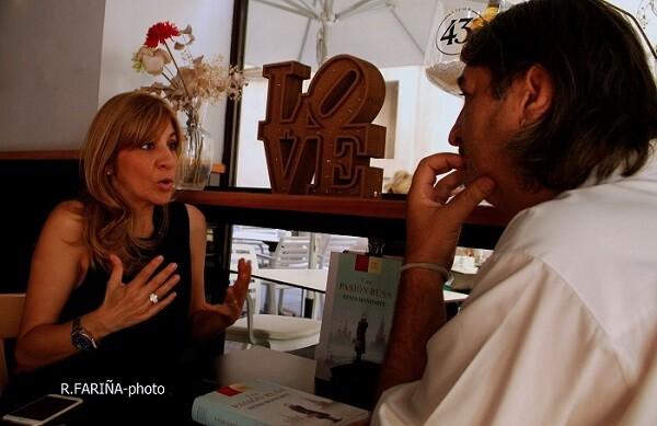 Reyes Monforte es una de las autoras españolas más interesantes del actual panorama literario. (Foto-R.Fariña-Valencia Noticias.).