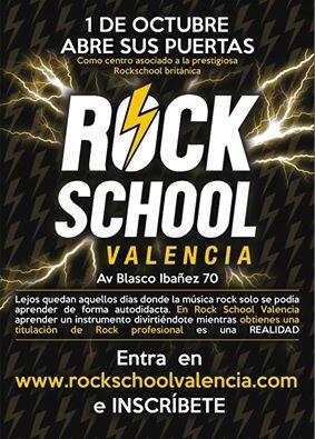 Rock School es una organización examinadora en el Reino Unido que valida y reconoce los estudios de música moderna.