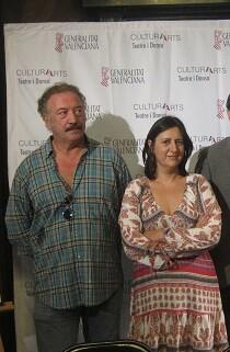 Rosa Pérez en la presentación de la nueva programación del Teatro Principal.