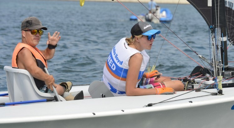 Seguin y el dúo holandés Schrama y Nap se mantienen a la cabeza del Campeonato de Europa Iberdrola de Vela Paralímpica (2)