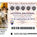 Sorteo de Lotería Nacional 12 sábado de septiembre de 2015