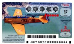 Sorteo del jueves de Lotería Nacional 3 de septiembre de 2015