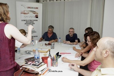 Taller de verano realizado durante el curso 2015. (Foto-Valencia Noticias).