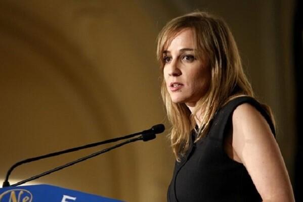 Tania Sánchez llega a Valencia a presentar el libro 'Por un nuevo proyecto de país'.