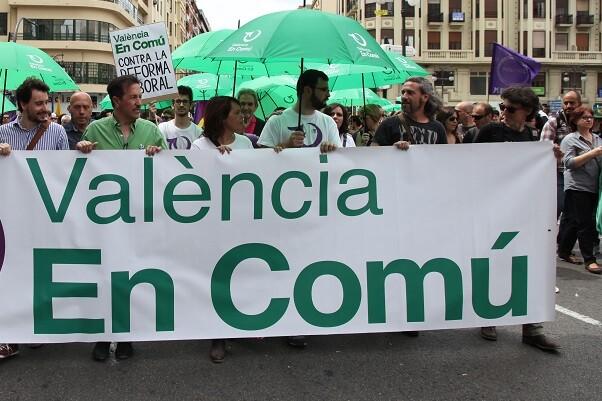 València en Comú se integra en la  Coordinadora Feminista de Valencia.