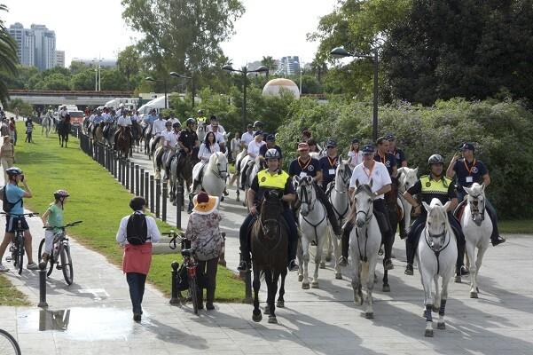 ValenciaCaballo, una completa oferta para todo el público en el Jardín del Túria.
