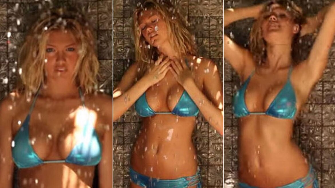 Video la ducha hot que Kate Upton dedicó a sus fanáticos