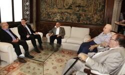 Ximo Puig se ha reunido con el presidente de la asociación Hispano-Siria de la Comunitat Valenciana, Abdallah Wassel Kassam