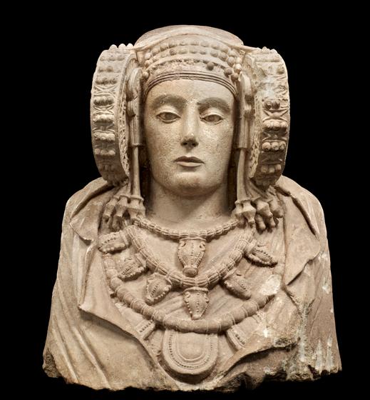 man coleccion galeria protohistoria dama elche