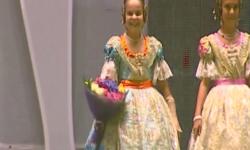 rostros de emoción en  Corte de honor y candidatas a Fallera Mayor Infantil de Valencia fallas (12)