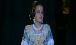 rostros de emoción en  Corte de honor y candidatas a Fallera Mayor Infantil de Valencia fallas (13)